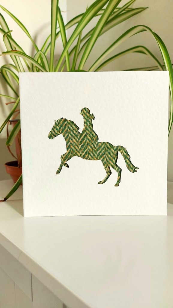 Touch of Tweed - Tweed Horse and Rider - Somerset