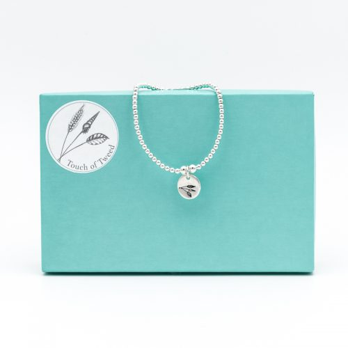 Lanreath Bracelet - Sterling Silver - Touch of Tweed - Somerset
