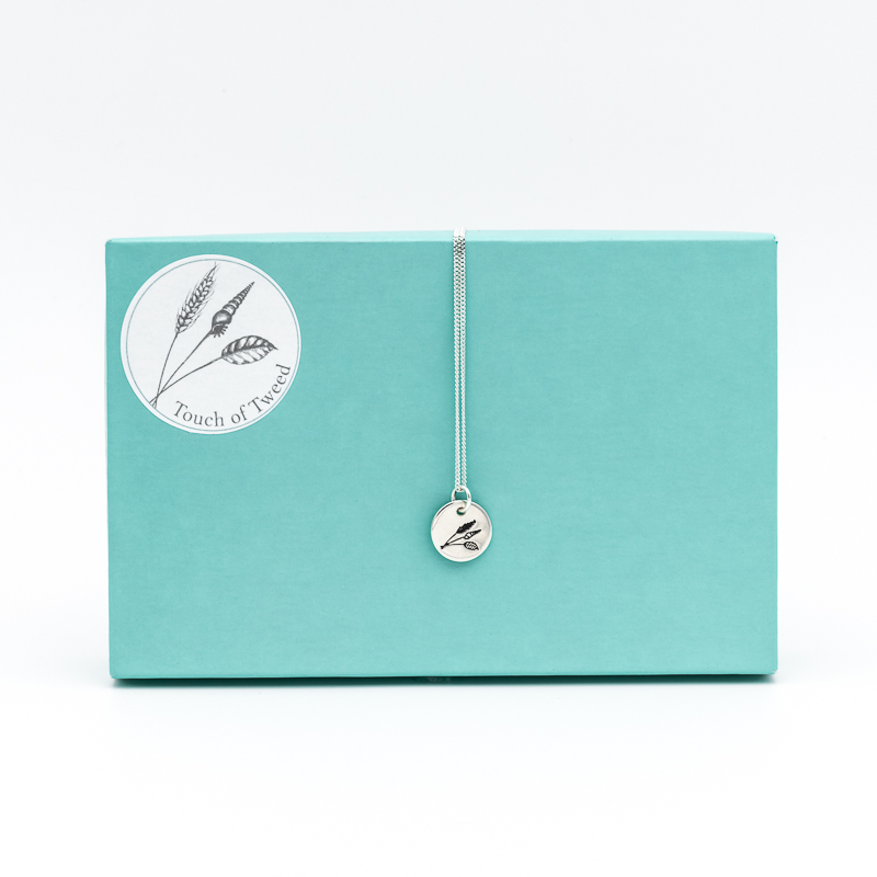 Lanreath Bracelet- Sterling Silver - Touch of Tweed - Somerset - UK
