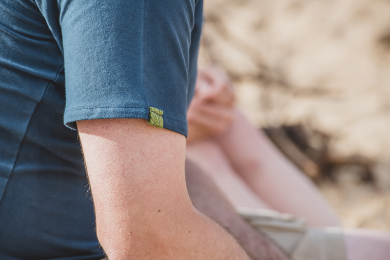 Touch of Tweed- tweed t-shirt - Dorset