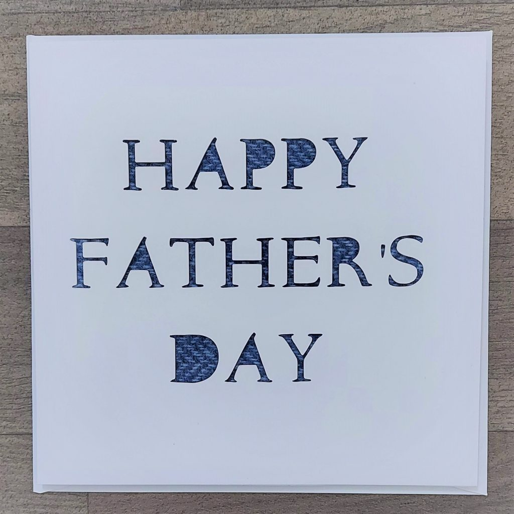 Tweed Fathers Day Card - Somerset