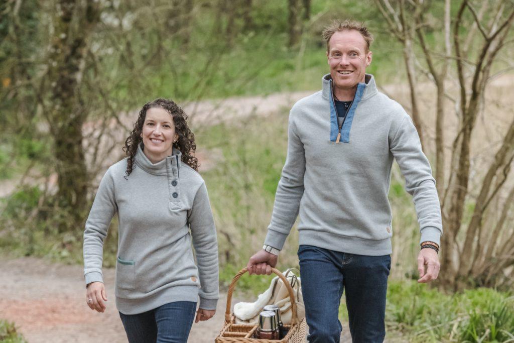 Touch of Tweed - Organic cotton sweatshirts - Somerset